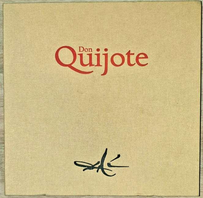 Imagen Don Quijote ilustrado por Salvador Dalí.