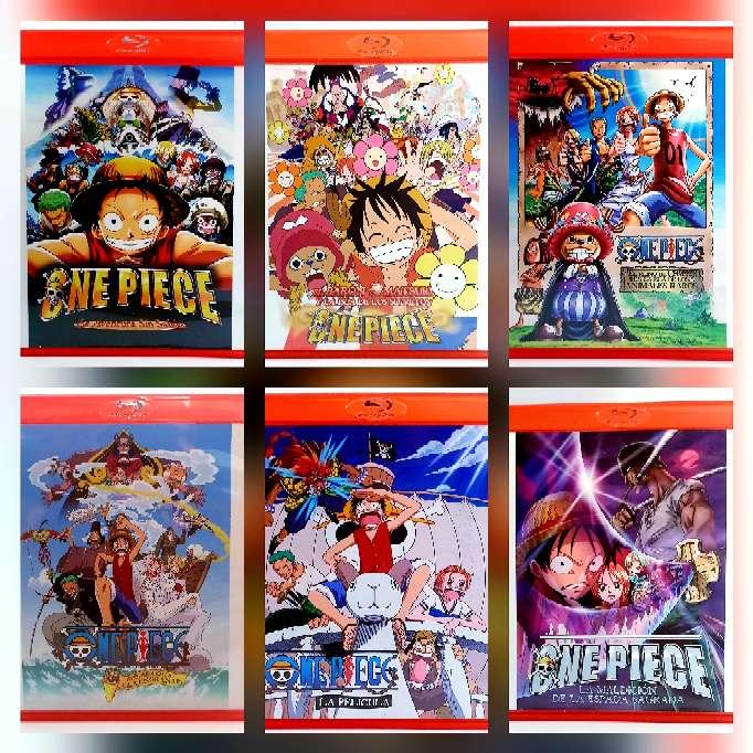 Imagen ¡OFERTA! Películas de One Piece, 10€ cada una