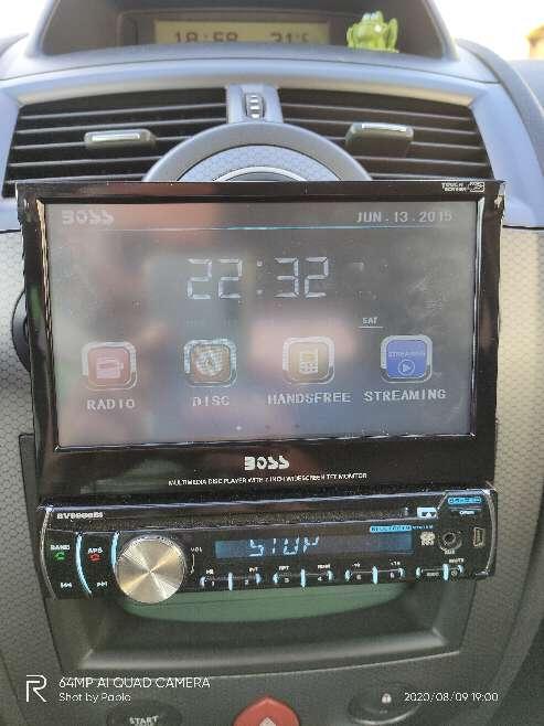 Imagen radio cd boss