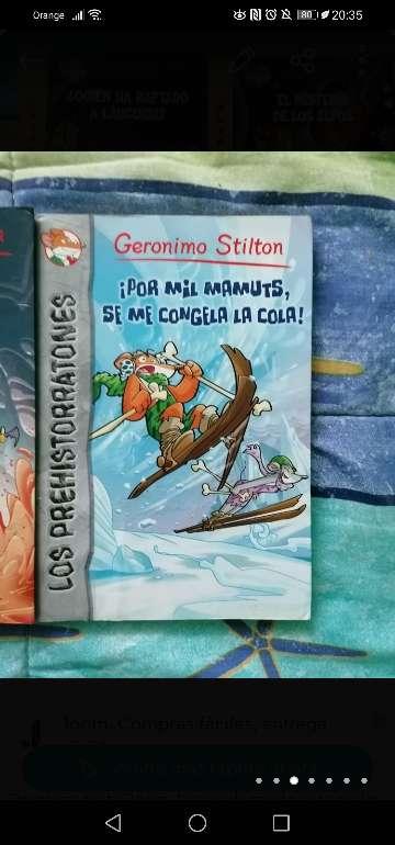 Imagen producto Libros Geronimo Stilton 3