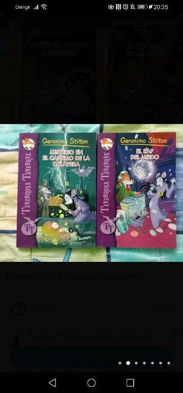 Imagen producto Libros Geronimo Stilton 2