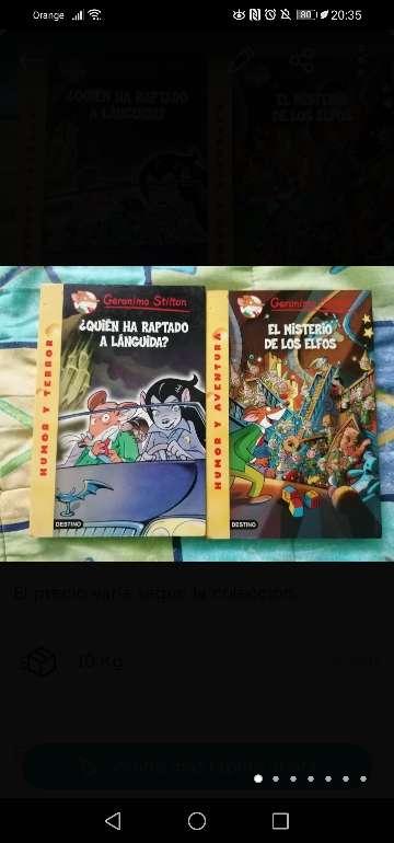 Imagen producto Libros Geronimo Stilton 1