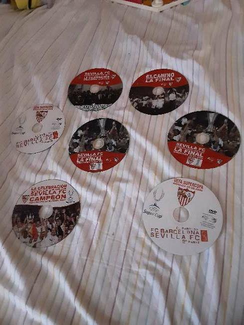 Imagen Colección Dvds del Sevilla F.C