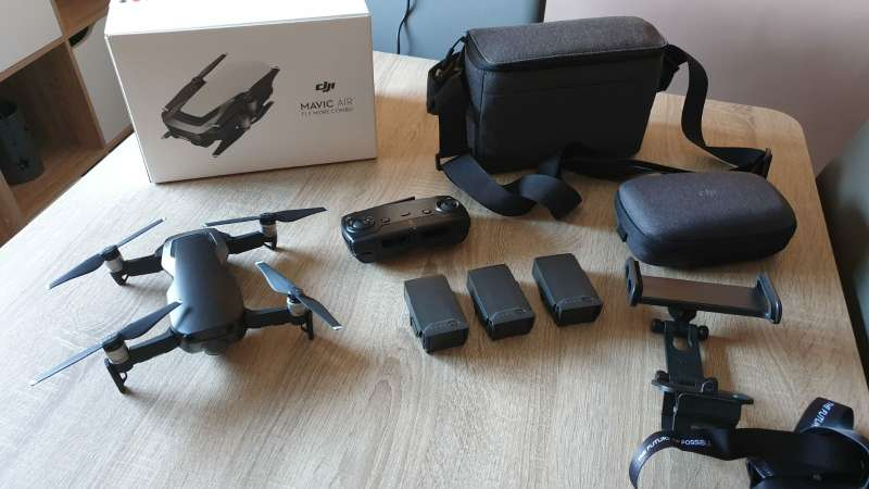 Imagen Drone DJI mavic air.