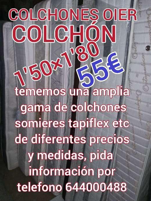 Imagen producto COLCHÓN 1'50×1'80 VISCOMODO 3