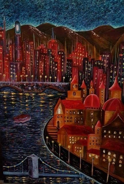 Imagen Se vende obra original al óleo