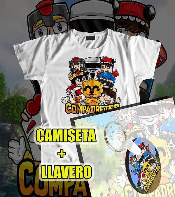 Imagen camiseta+llavero