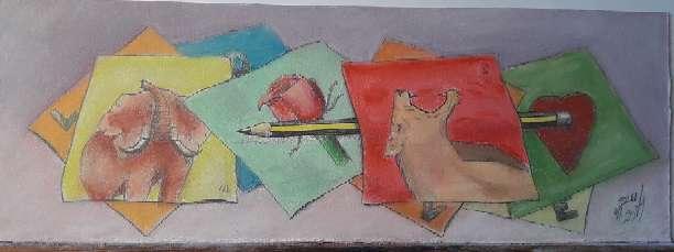Imagen producto Dibujos por comida 7