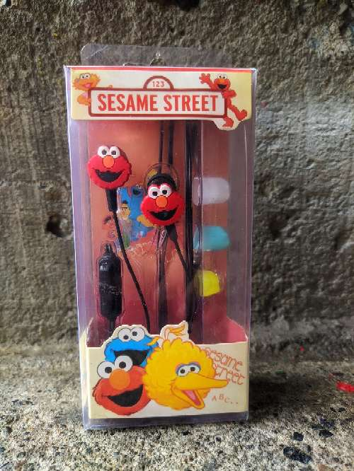 Imagen Audífonos auriculares manos libres Sesame street