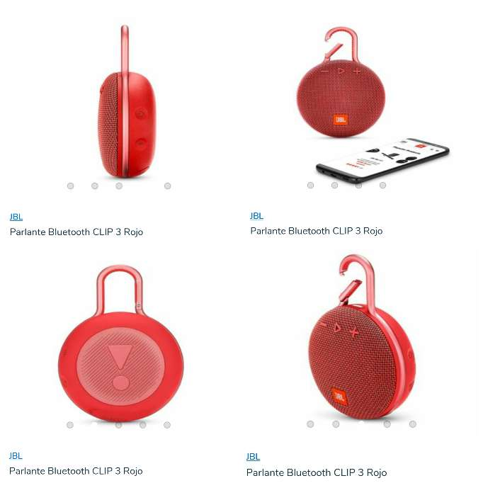 Imagen parlante Bluetooth