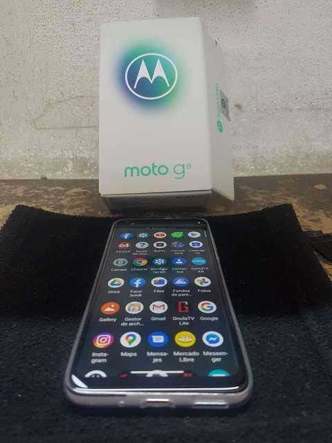 Imagen producto Moto G8 nuevo completo impecable, vendo o permuto 2