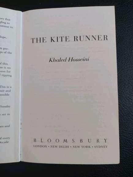 Imagen producto The Kite Runner byKhaled Hosseini 4