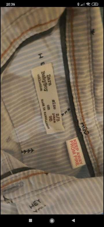 Imagen producto Camisa de niño 2