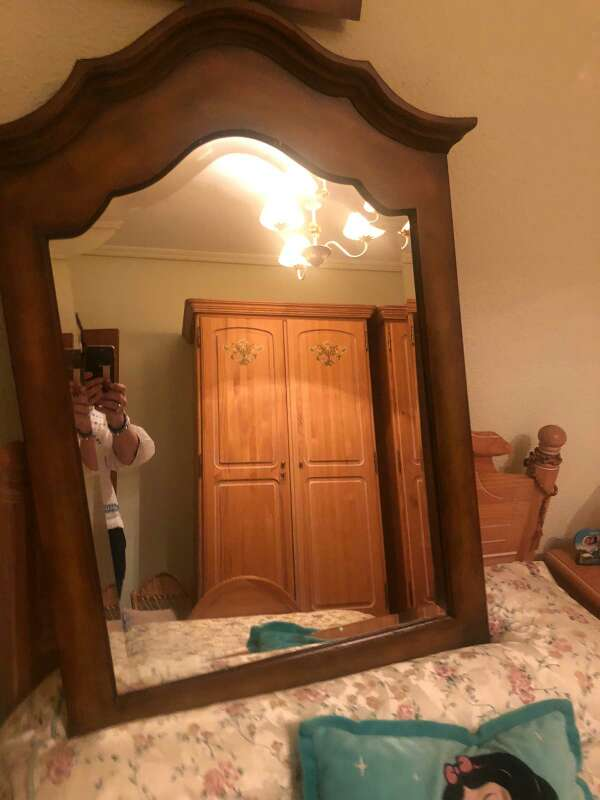 Imagen espejo de baño