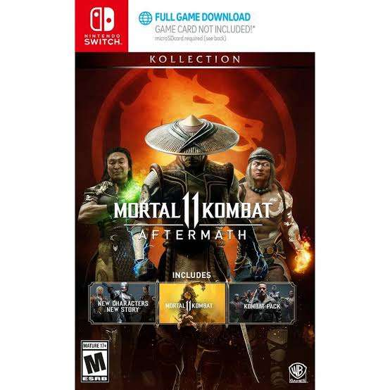 Imagen Mortal Kombat 11: Aftermath Kollection - Nintendo Switch