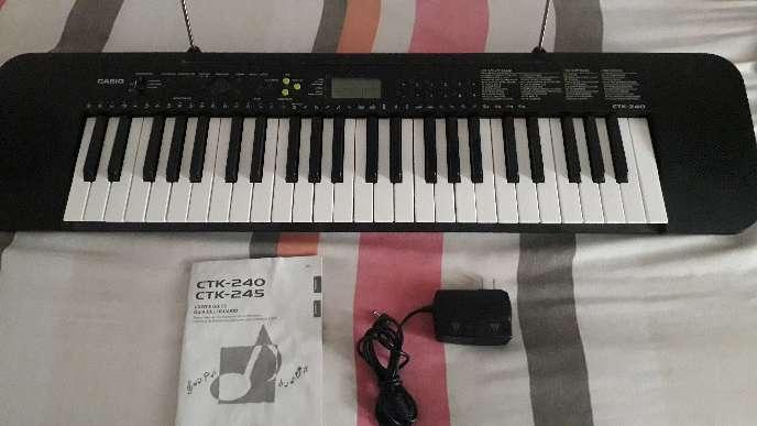 Imagen Teclado Casio CTK 240