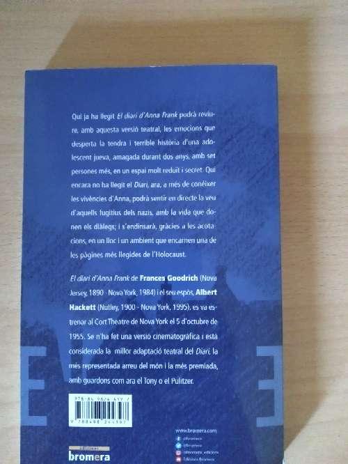 Imagen producto El diari d'Anna Frank 2