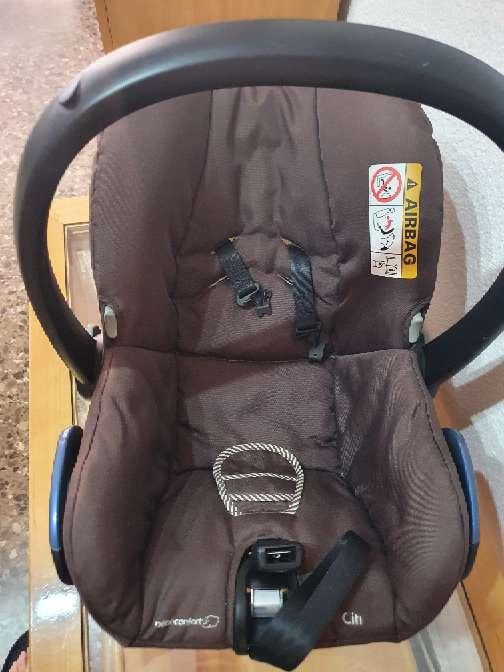 Imagen producto Silla porta bebé grupo 0 ,o silla de coche  2
