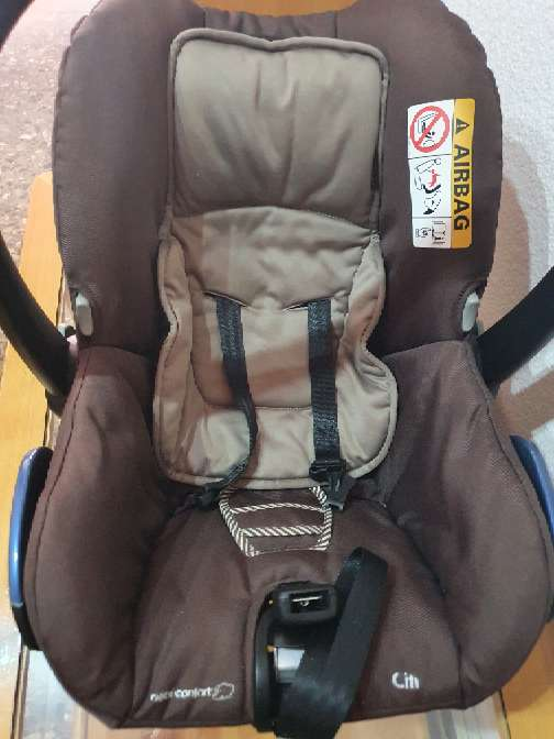 Imagen silla porta bebé grupo 0 ,o silla de coche