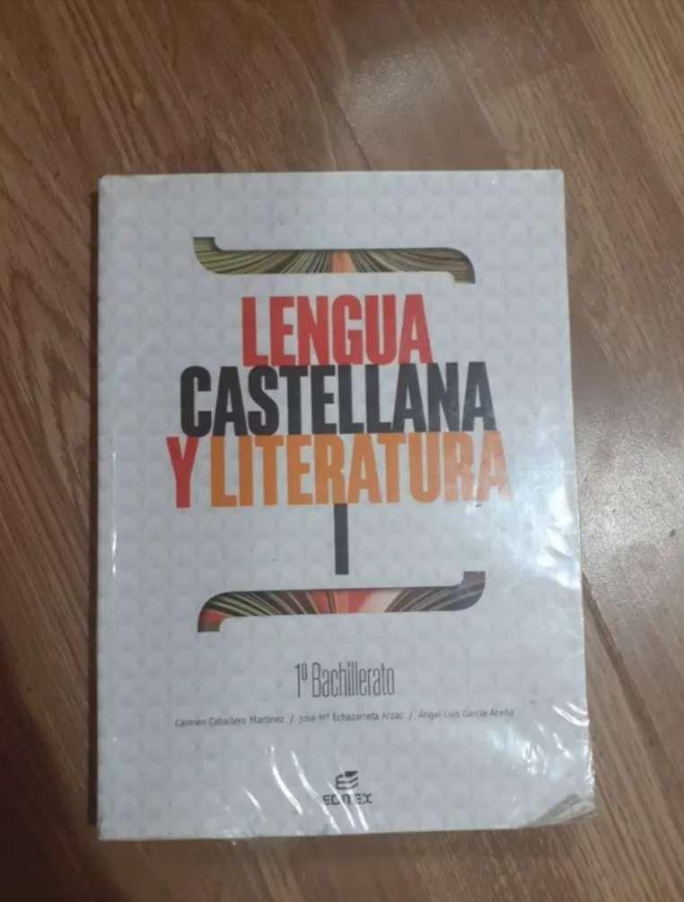 Imagen Libro Lengua Castellana y literatura 1°Bachillerato