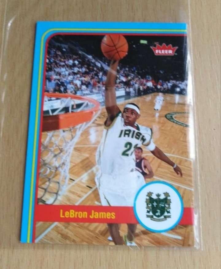 Imagen Lebron james card. NBA