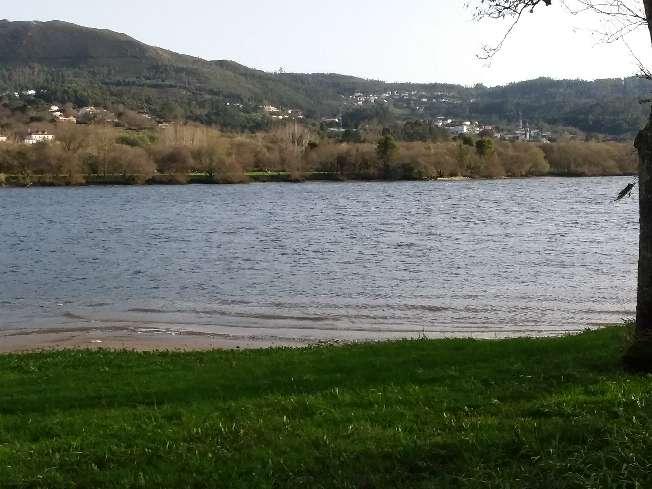 Imagen finca al lado del río Miño con playa fluvial a unos metros muy bien ubicada