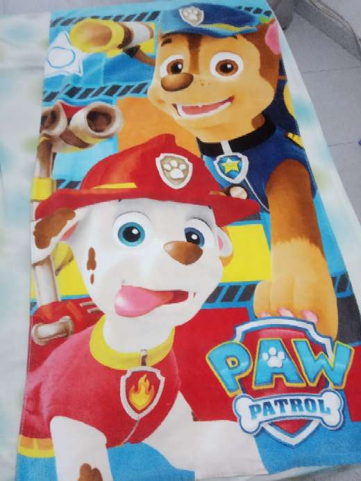 Imagen toalla patrulla canina