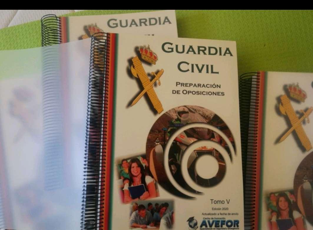 Imagen producto Temario Guardia Civil 2020 2