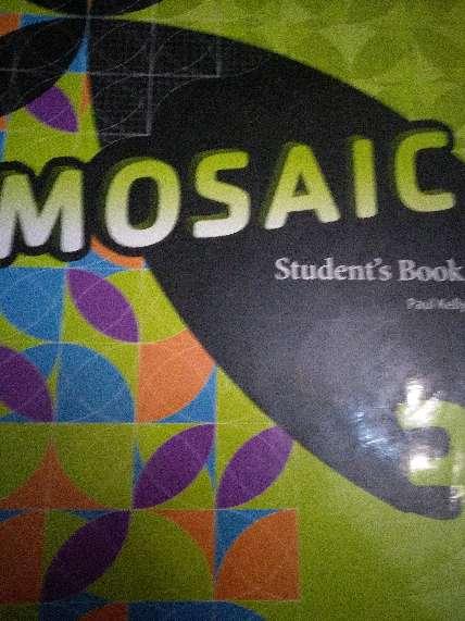 Imagen Mosaic Students book