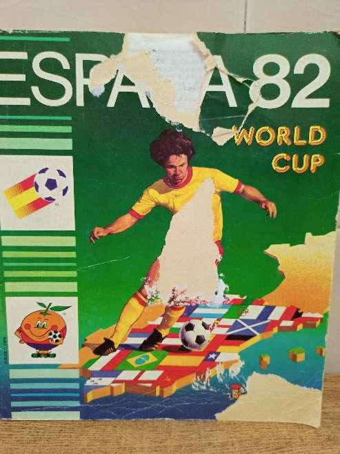Imagen álbum mundial 82 España