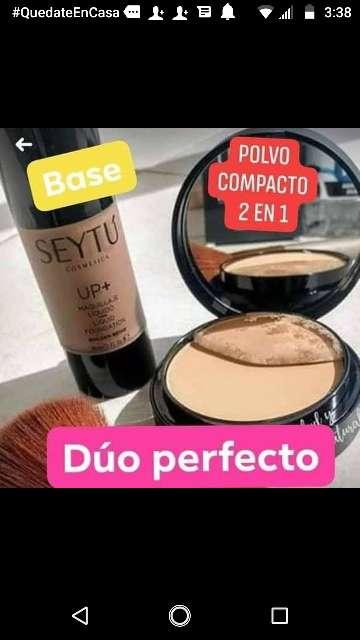 Imagen producto Base liquida y polvos seytu 4