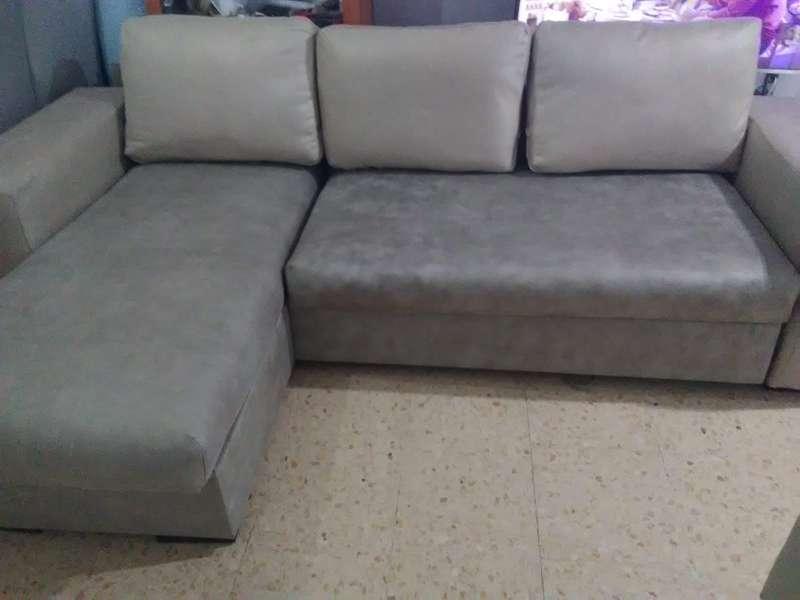 Imagen se vende sofá recién tapizado nuevo .