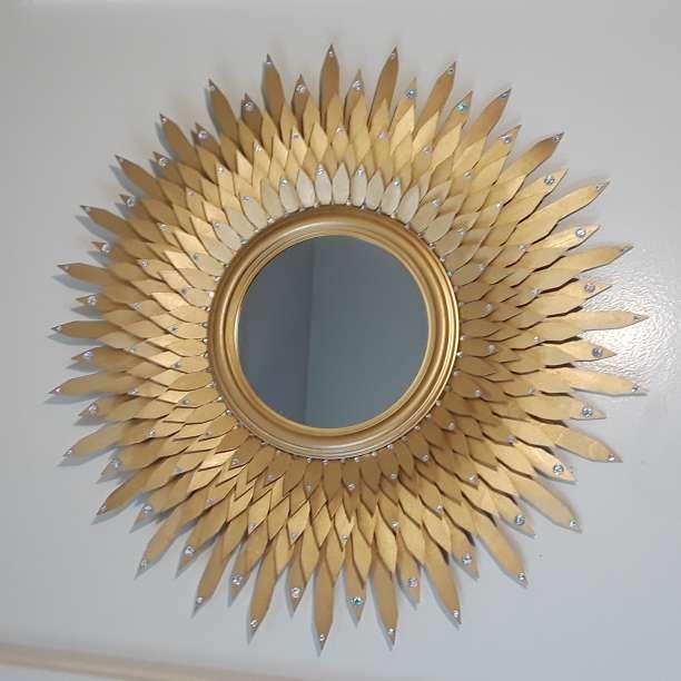 Imagen producto Golden decorative mirror  5
