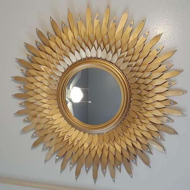 Imagen producto Golden decorative mirror  6