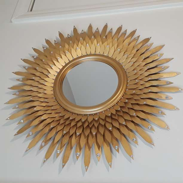 Imagen producto Golden decorative mirror  2