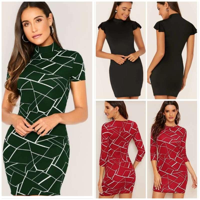 Imagen Paquete de 3 vestidos talla L