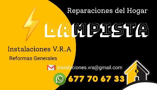 Imagen Lampista Profesional Economico. Electricista/Fontanero/Gas/Climaticacion.