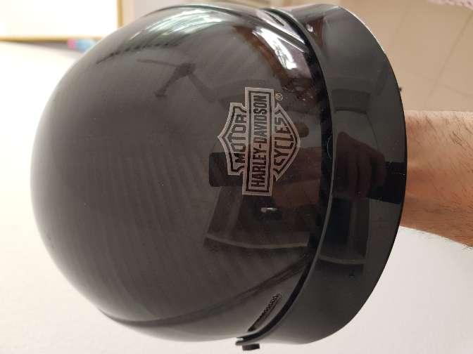 Imagen casco huevo Harley davidson