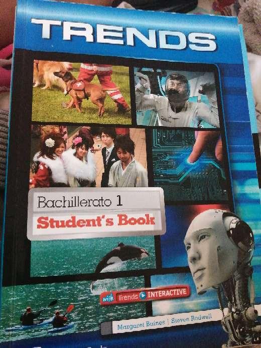 Imagen Libro de inglés trends 1 bachillerato student's book
