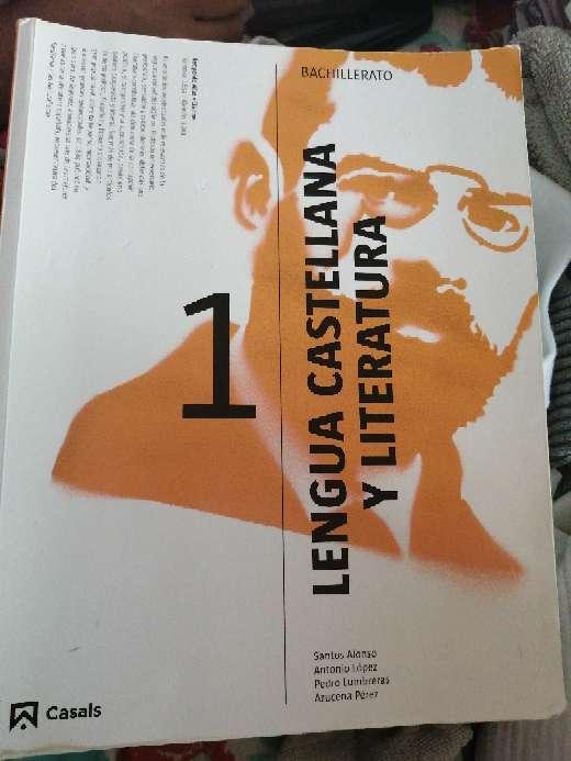 Imagen Libro de lengua y literatura 1 bachillerato casals