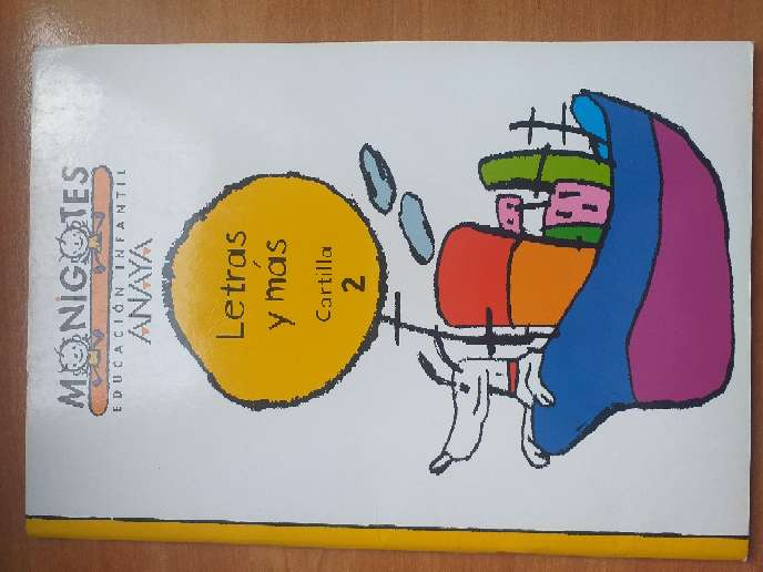 Imagen Libro Monigotes Educación Infantil