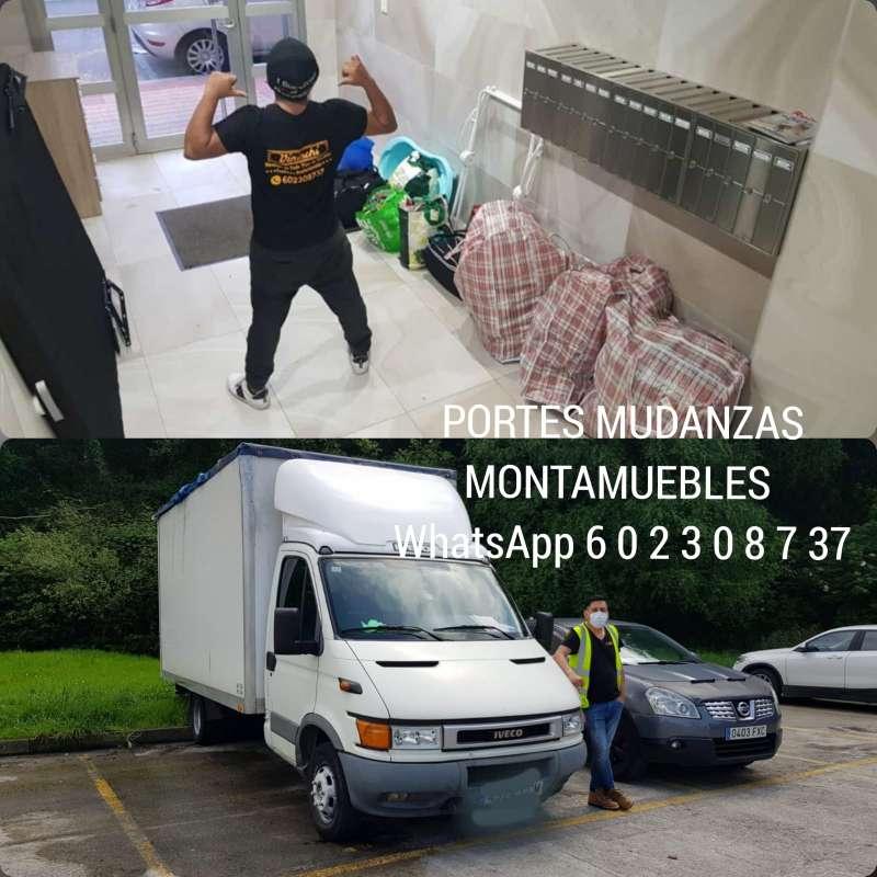 Imagen producto Montamuebles transporte mudanzas etc 3
