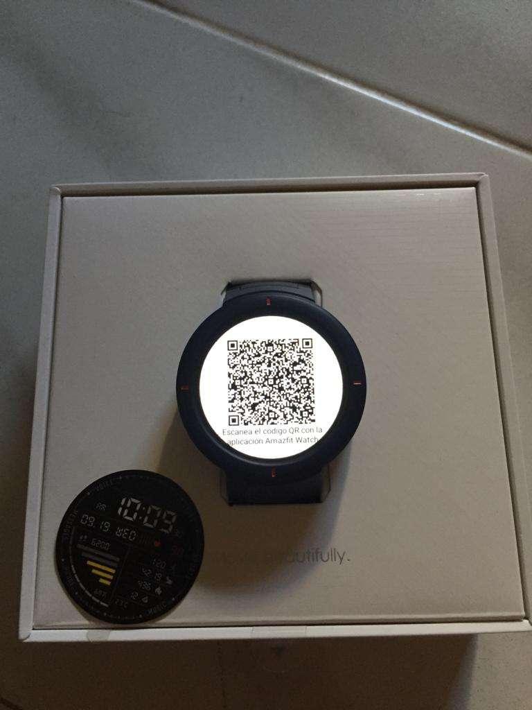 Imagen Reloj inteligente Amazfit Verge no es lite