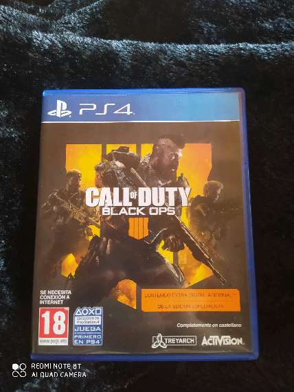 Imagen Call of Duty Black Ops 4