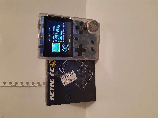 Imagen consola portátil retro nueva