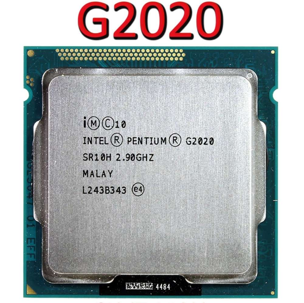 Imagen PROCESADOR Intel Pentium g2020 gráficos integrados