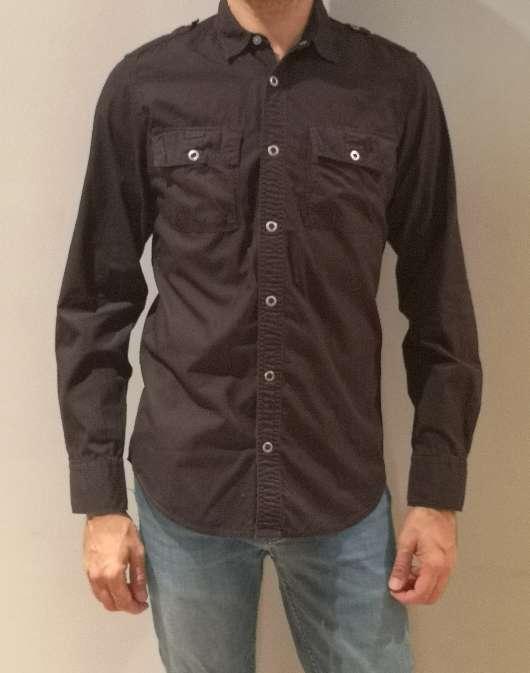 Imagen Camisa negra chico Calvin Klein 10€