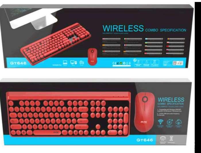 Imagen Combo teclado y mouse inalámbrico