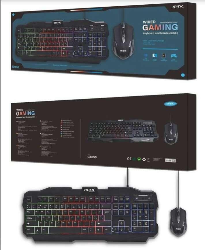 Imagen Combo teclado y mouse Gaming