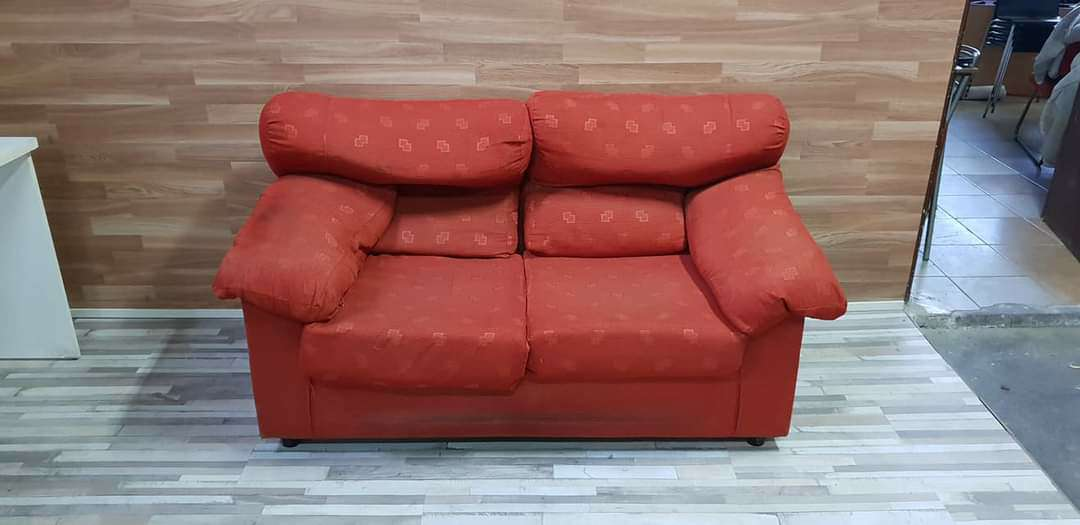 Imagen Sofa dos plazas tapizado tela